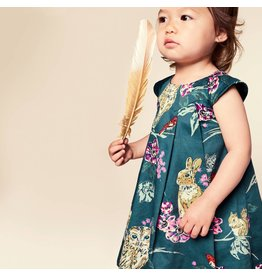 Tea Collection Caledonian Forest Baby Dress w/Bloomer