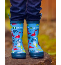 Oakiwear Oakiwear Wellies - Royal Dinosaur