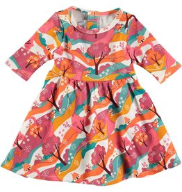 Rockin' Baby Enchanted Forest Print Dress