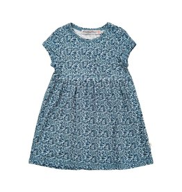 Minymo Summertime Baby Dress - Blue Mirage