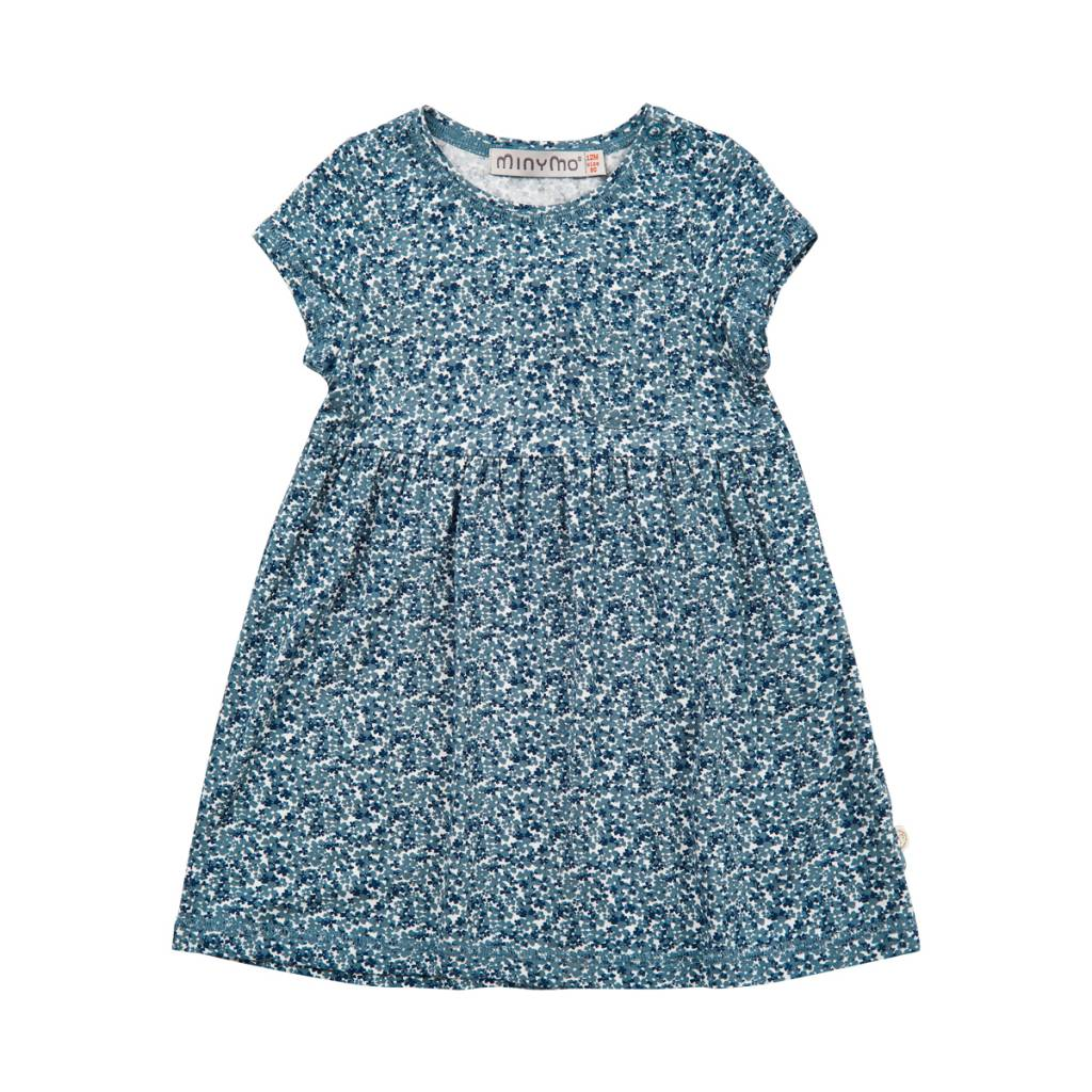 Minymo Summertime Baby Dress - Blue Mirage - Bump & Baby, LLC