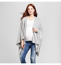 Ingrid & Isabel Maternity Cozy Waterfall Wrap Sweater