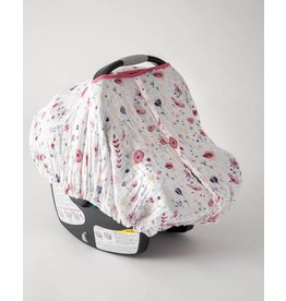Little Unicorn Muslin Car Seat Canopy - Fairy Garden