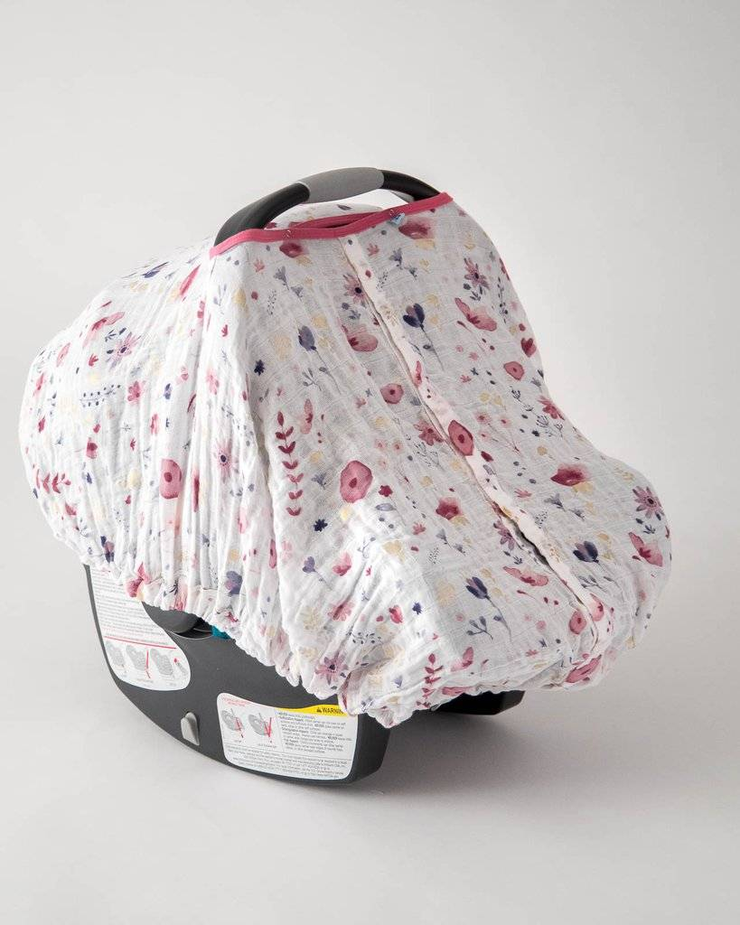 Little Unicorn Muslin Car Seat Canopy