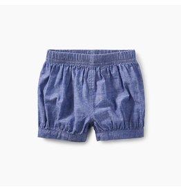 Tea Collection Chambray Bubble Shorts - Neptune Confetti