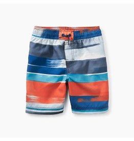 Tea Collection Swim Trunks - Painted Stripe