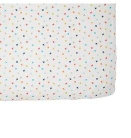 Petit Pehr Organic Crib Sheet - Rainbow Jacks