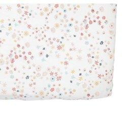 Petit Pehr Organic Crib Sheet - Meadow