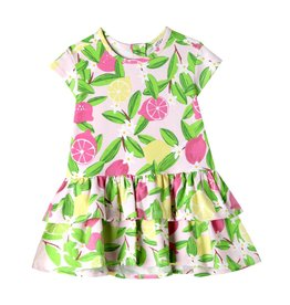 Art & Eden Kinsley Baby Dress - Pink Lemonade