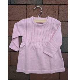 Kanz Pointelle Knit Dress