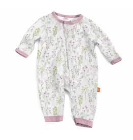 Magnificent Baby Magnetic Modal Coverall - Little Garden