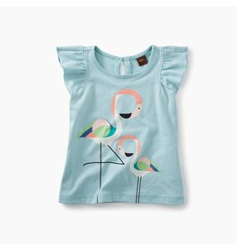 Tea Collection Flamingo Graphic Baby Tee