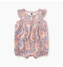 Tea Collection Henley Romper-Pink Gloss