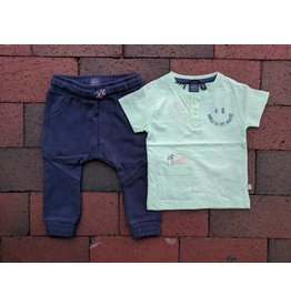 Babyface Oh, Snack! Mint Baby Tee & Jogger Set