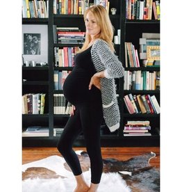Ingrid & Isabel Maternity Seamless Belly Legging - Capri Length