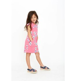 Art & Eden Ivy Dress - Pink Plumeria