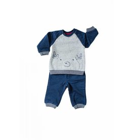 Kanz Little Reindeer Sweatshirt & Joggers Set