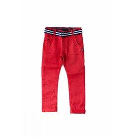 Kanz Red Jeans w/ Belt