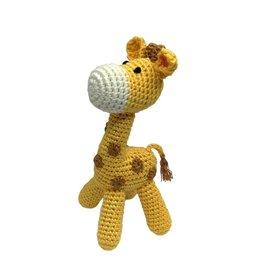 Cheengoo Organic Bamboo Rattle - Standing Giraffe