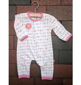 Magnificent Baby Magnetic Modal Coverall - Summer Ice Cream