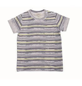 E.M.C. A New Stripe Baby Pocket Tee
