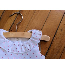 E.M.C. Cherry Dot Dress & Bloomer Set