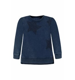 Bellybutton Organic Cotton Stonewashed Star Sweatshirt