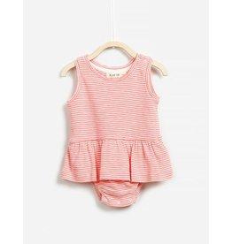 Play Up Sorbet Stripes Sundress Bodysuit