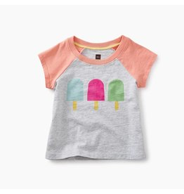 Tea Collection Ice Pop Graphic Baby Tee