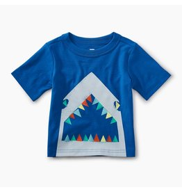 Tea Collection Great White Graphic Baby Tee
