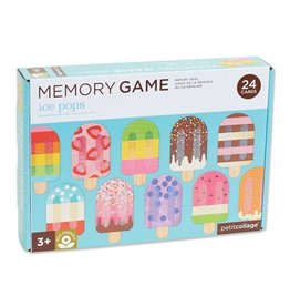 Petit Collage Memory Games - Ice Pops