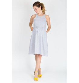 NOM Maternity Molly Dress - Seersucker