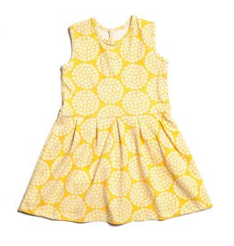 Winter Water Factory Essex Dress - Yellow Flowers