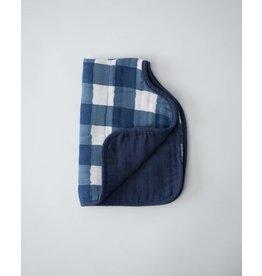 Little Unicorn Cotton Muslin Burp Cloth - Jack Plaid
