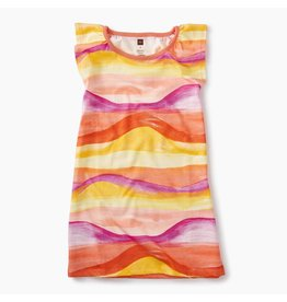Tea Collection Desert Sunset Graphic Dress