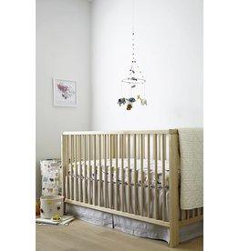 Petit Pehr Organic Crib Skirt - Grey