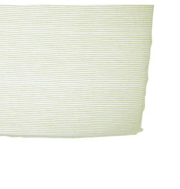 Petit Pehr Organic Crib Sheet - Citron Pencil Stripe