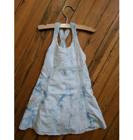 Kanz Retro Acid Wash Halter Dress