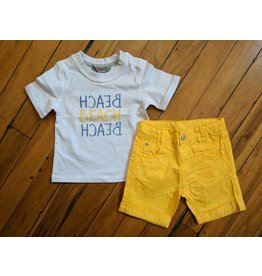 Kanz More Beach Baby Outfit - Bright Yellow