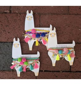 Two's Company Lovely Llama Bracelet