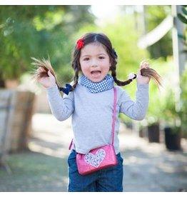 Peppercorn Kids Peppercorn Kids Glitter Purse - Fuchsia