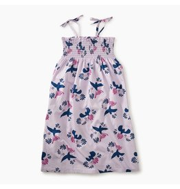 Tea Collection Braided Strap Dress - Birds of a Feather