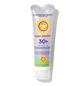 California Baby California Baby Fragrance Free SPF 30 Sunscreen Lotion 1.8oz