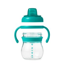 OXO Transitions Soft Spout Cup w/Removeable Handles - Teal