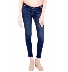 Ingrid & Isabel Maternity Sasha Skinnies w/Inset Panel - Faded Indigo