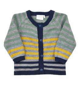 Minymo Organic Cotton Cardigan-Autumn Blue