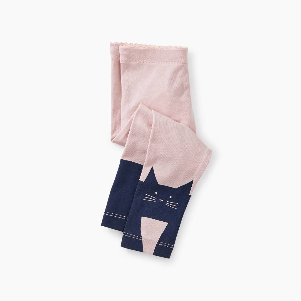 Tea Collection Curious Cat Baby Leggings