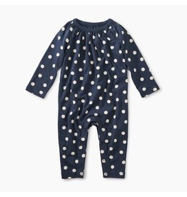 Tea Collection Stamped Dots Romper