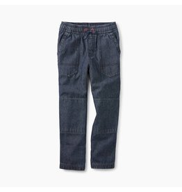 Tea Collection Canvas Explorer Pants - Indigo