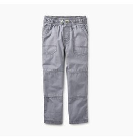 Tea Collection Canvas Explorer Pants - Grey